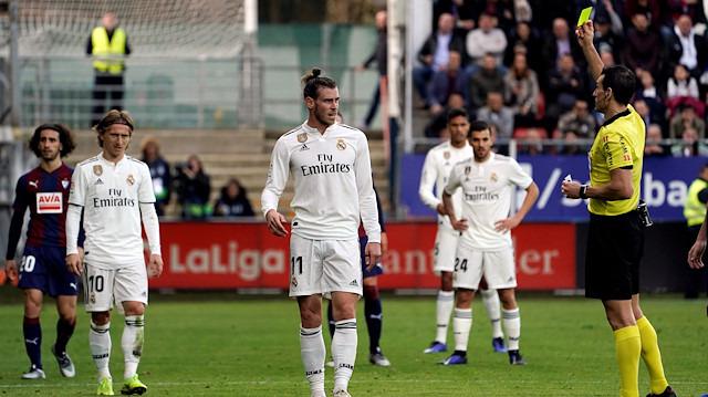 Real Madrid tepetaklak