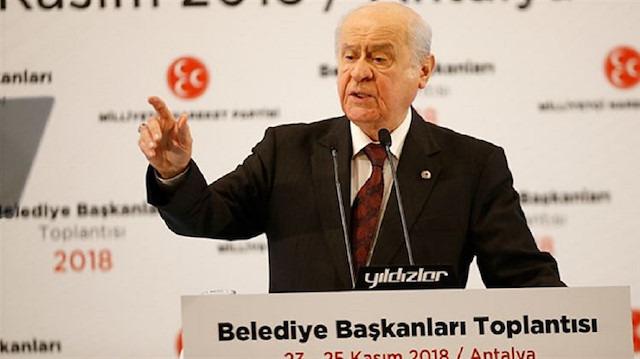 Bahçeli: İstanbul, Ankara ve İzmir'den aday göstermeyeceğiz