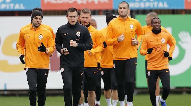 Galatasaray Lokomotiv Moskova maçı hazırlıklarına devam etti