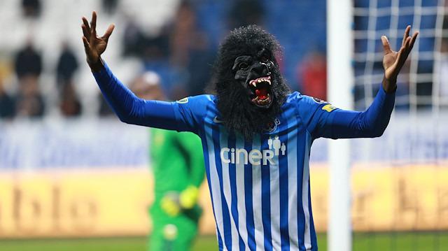 Süper Lig'de görülmemiş gol sevinci