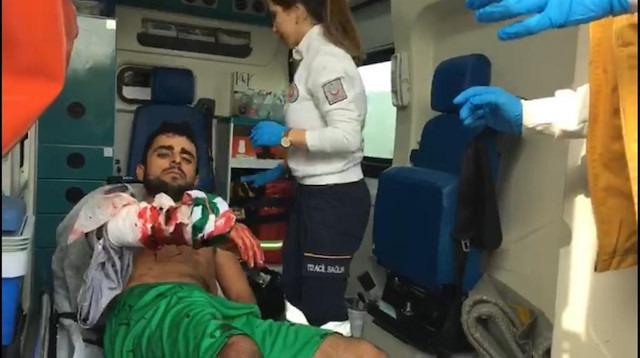 Amatör maçta kavga: Yaralanan 1 oyuncu hastaneye kaldırıldı