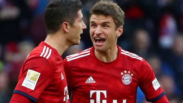 Müller ve Lewandowski'ye özel ödül