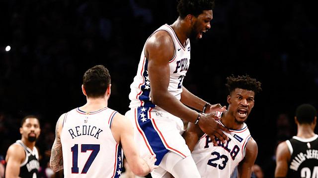 Philadelphia 76ers, Brooklyn Nets'i son saniyede devirdi