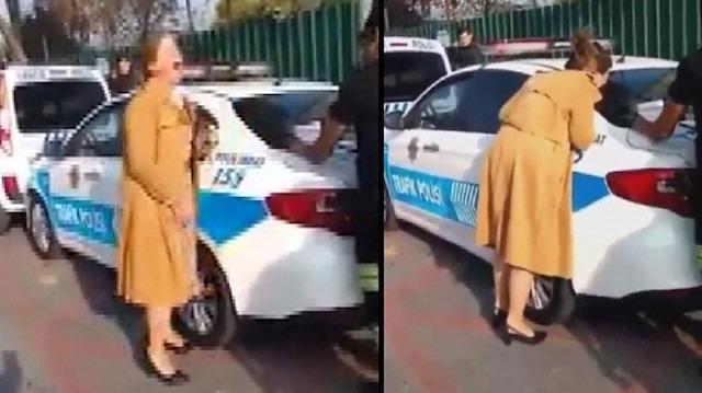 Sosyal medyada gündem olan 'Çığlık atan kadın' açıklama yaptı