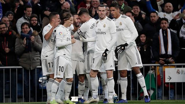 Real Madrid Valencia'yı iki farkla mağlup etti