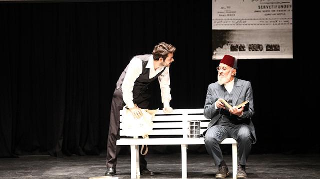 Mehmet Akif'in idealindeki genç 'Asım' yeniden tiyatro sahnesinde