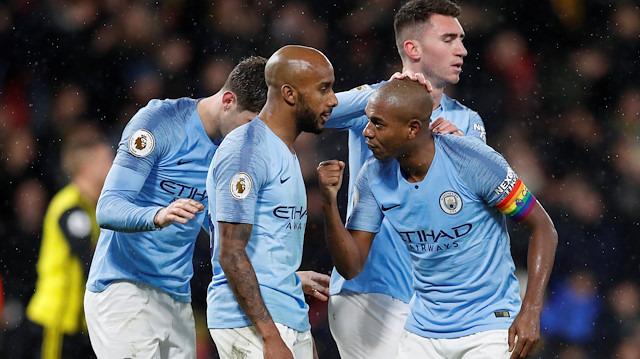 Manchester City liderliğini sürdürdü