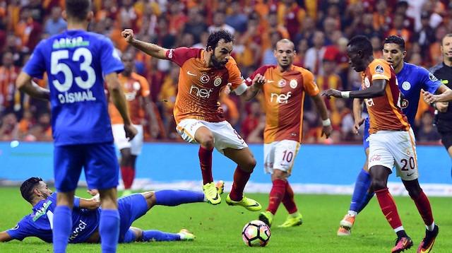 Galatasaray ile Çaykur Rizespor 35. randevuda