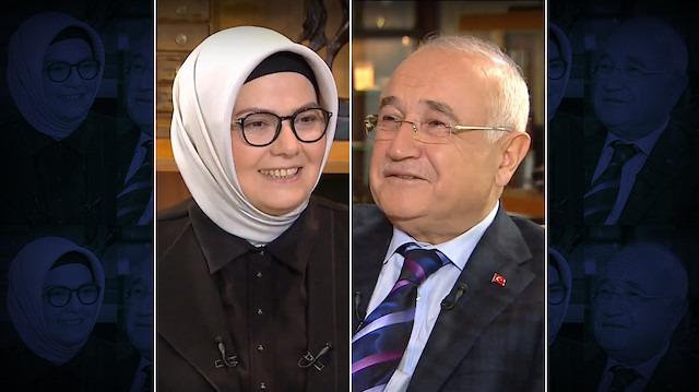 Türk Kahvesi programının bu haftaki konuğu Cemil Çiçek