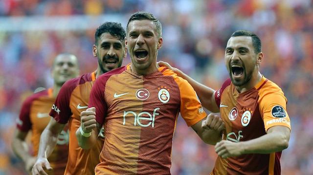 Podolski'den Galatasaray taraftarına mesaj var