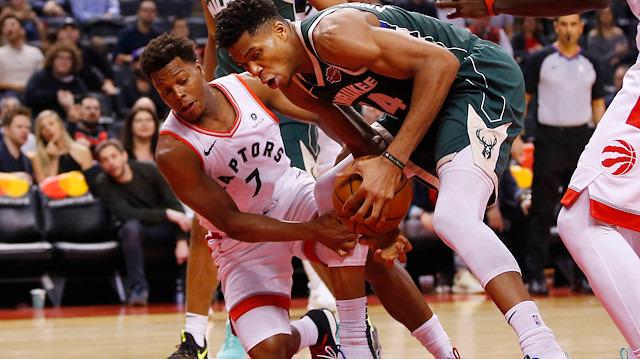 Bucks, Raptors deplasmanında kazandı