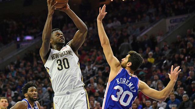 Furkan Korkmaz, NBA'de maçın adamı seçildi