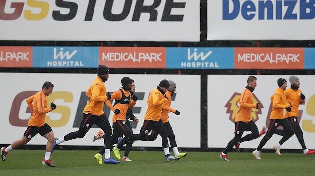 Galatasaray'da Başakşehir hazırlıkları sürüyor
