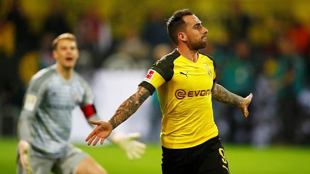 Avrupa'nın en verimli golcüsü Alcacer