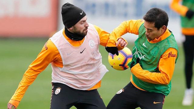 Galatasaray'da Rodrigues ve Sinan sevinci