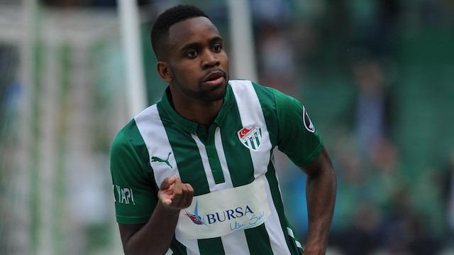 Cedric Bakambu Bursaspor'u unutamıyor