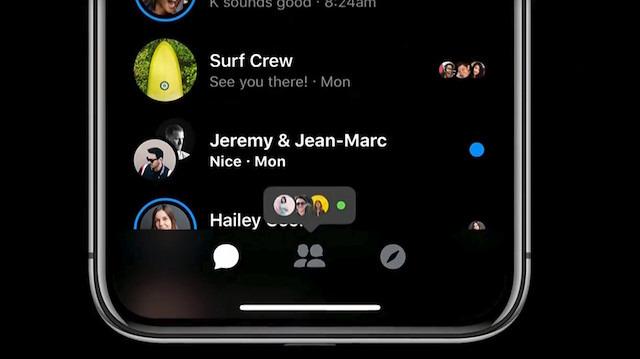 Facebook Messenger'a da karanlık mod özelliği geliyor
