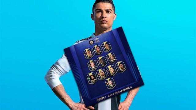 FIFA 19, 'yılın takımını' açıkladı: 'Yıldızlar topluluğu'
