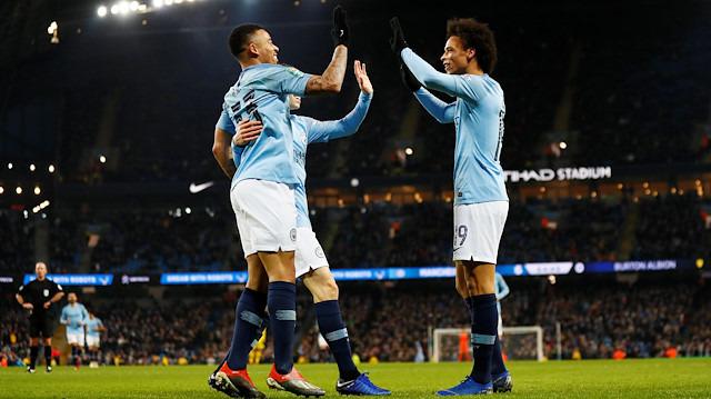 Manchester City rencide etti: 9-0