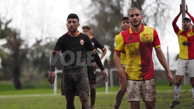 Galatasaray maçında skandal zemin