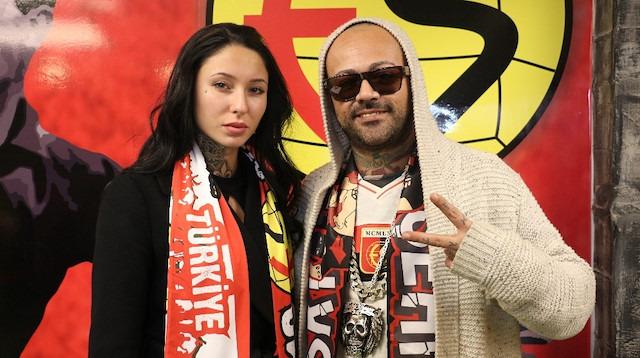 Baby Brown'dan Eskişehirspor'a destek