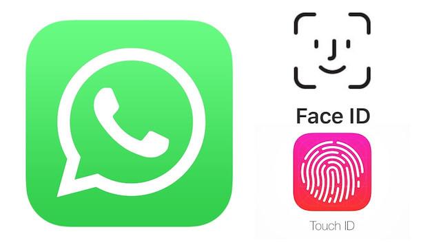 WhatsApp, FaceID ve Touch ID desteği kazandı