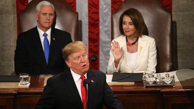 Trump'ın dili yumuşadı: Birlik ve partiler arası işbirliği mesajı