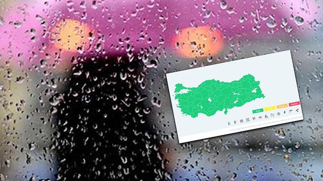 Meteorolojide yeni dönem: 'Renk kodlarıyla uyarı'