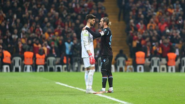 Trabzonspor maçında duygusal anlar