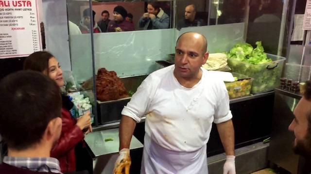 Çiğ köfteci Ali Usta'nın dayak attığı genç: Şarkıyı muhabirler yazdı
