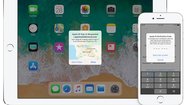 Bir kullanıcı, iki faktörlü kimlik doğrulama sebebiyle Apple'ı dava etti