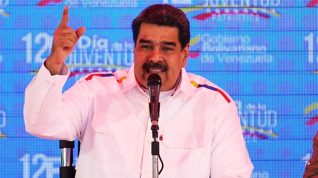 Maduro'dan ABD yönetimine: 'Ku Klux Klan'