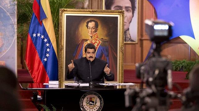 Maduro hükümeti ABD ile gizlice bir araya gelmiş