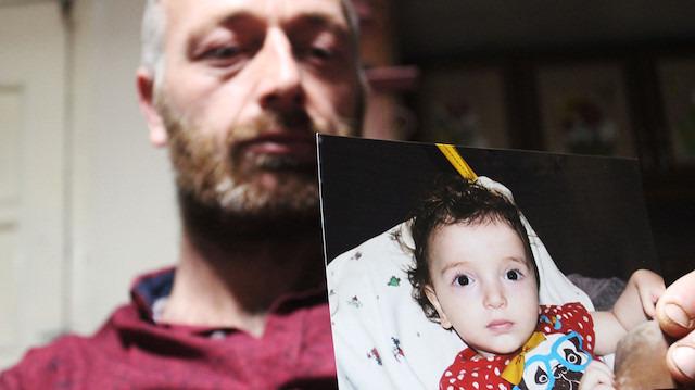 Üvey baba şiddeti gören minik Esma yaşam savaşını kaybetti