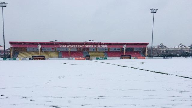 Galatasaray - Akhisarspor U21 maçı ertelendi