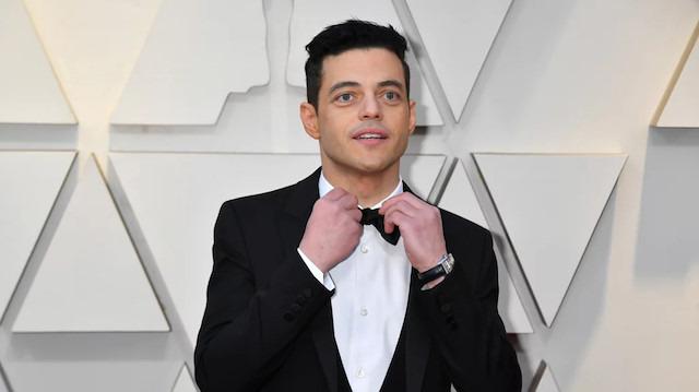 Rami Malek'in papyonu Oscar'a damgasını vurdu