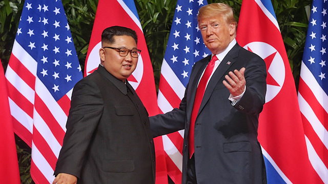 Donald Trump'tan Kuzey Kore güzellemesi: Nükleer silahsız büyük bir güç olabilirler