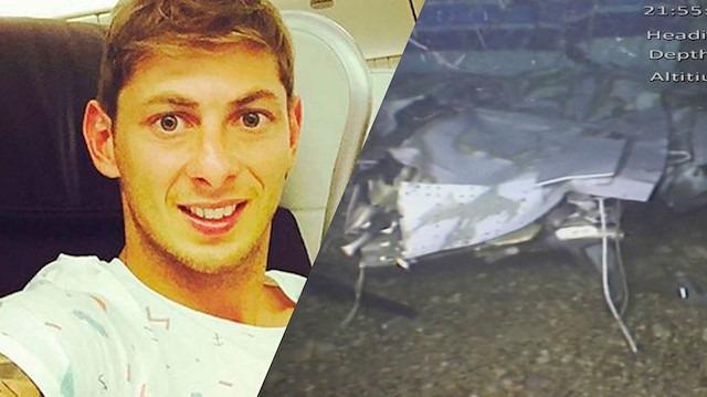 Emiliano Sala'nın uçağının enkazından yeni görüntüler