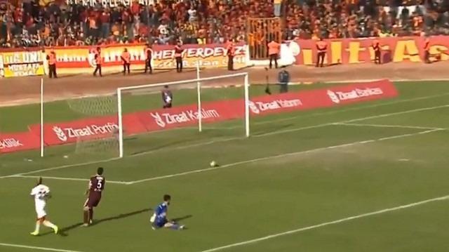 Hatayspor - Galatasaray maçında skandal