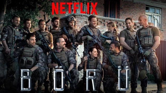 Börü dizisi Netflix'te