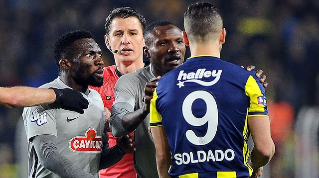 Kadıköy'de tartışmalı penaltı kararı