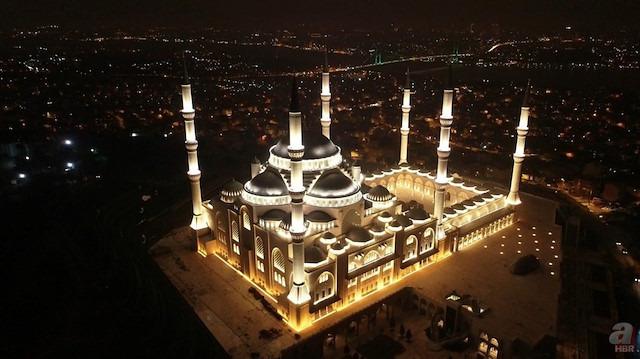 Çamlıca Camii açılıyor