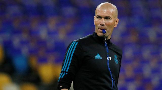Zidane resmen geri döndü