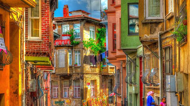 İstanbul'un renk çümbüşü: Balat