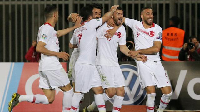 Milli takımın galibiyeti Arnavut basınında