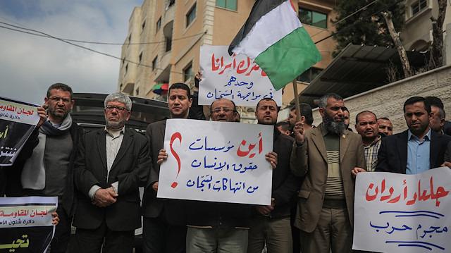 İsrail güçleri Filistinli esirlere saldırdı