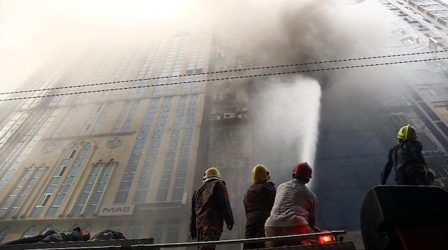Bangladeş'teki yangında ölü sayısı 25'e yükseldi