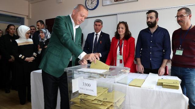 Parti liderlerinin sandık sonuçları