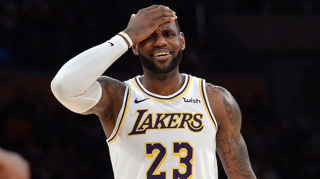 LeBron James, Dünya Kupası'nda yok