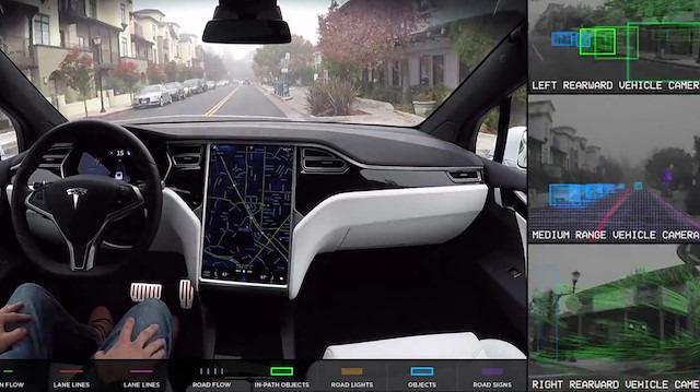Elon Musk doğruladı: Tesla otomobiller yoldaki çukurlardan kaçabilecek